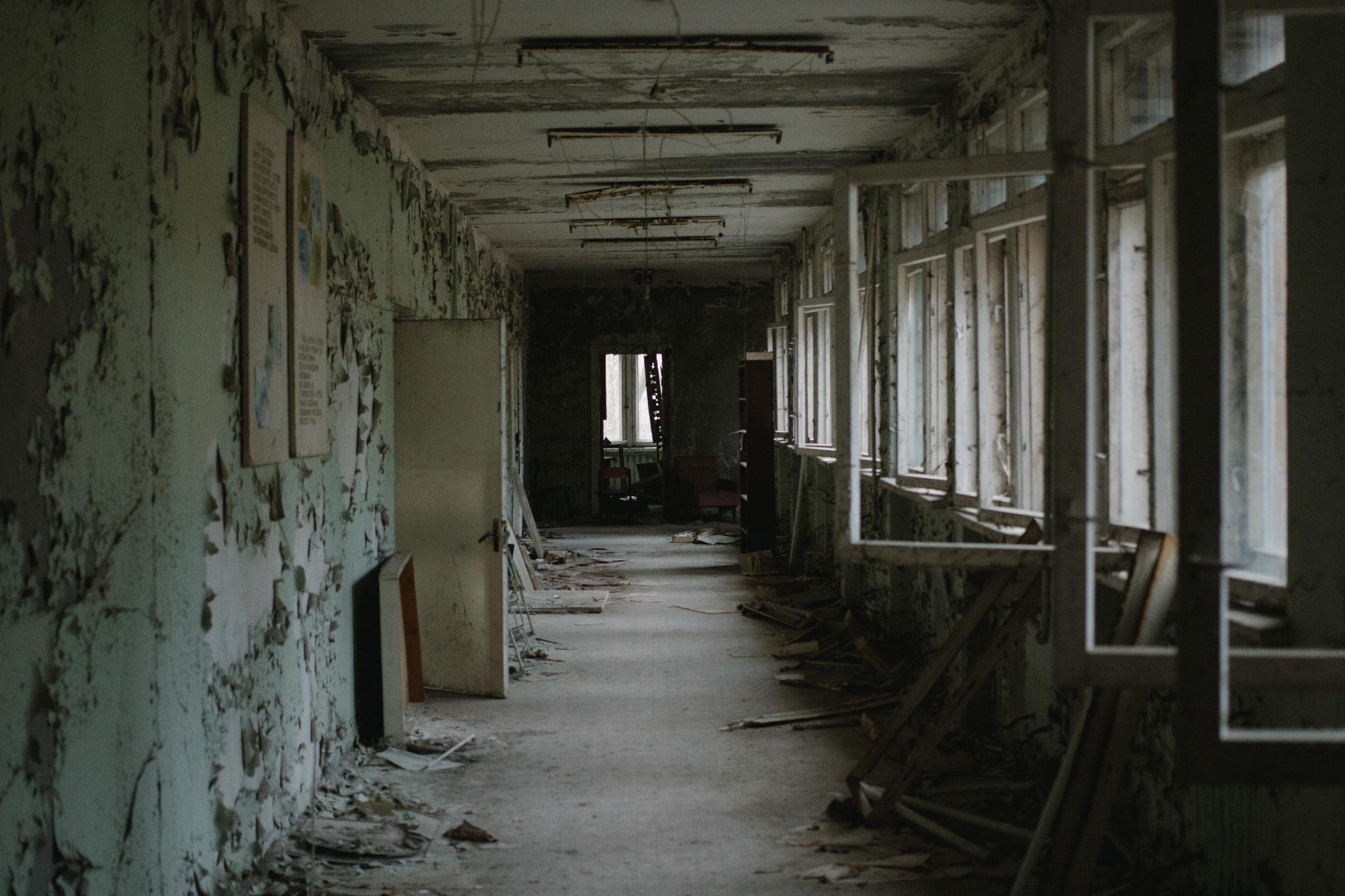 Inside Pripyat